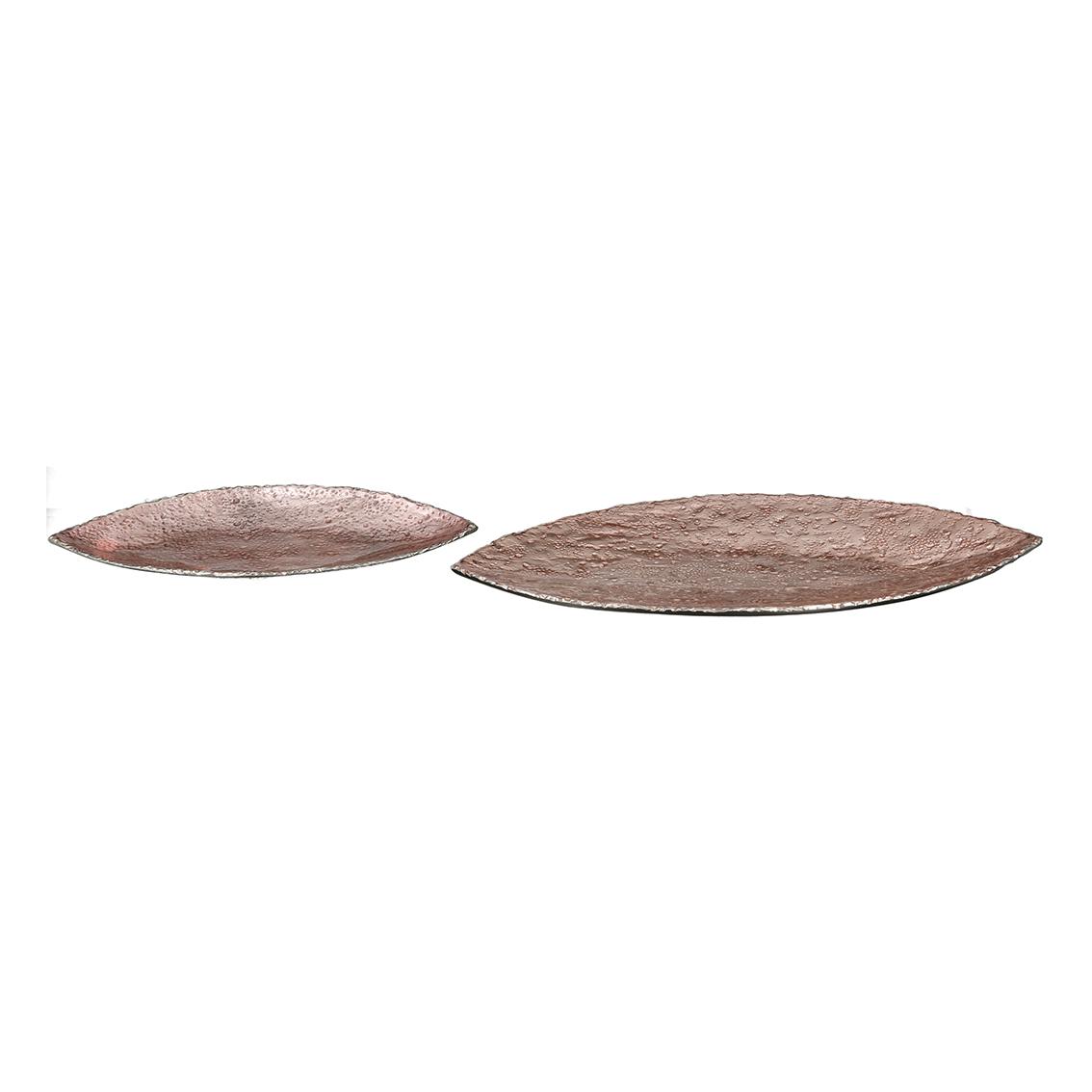 Mísa Rock, 23 cm, růžová / zlatá