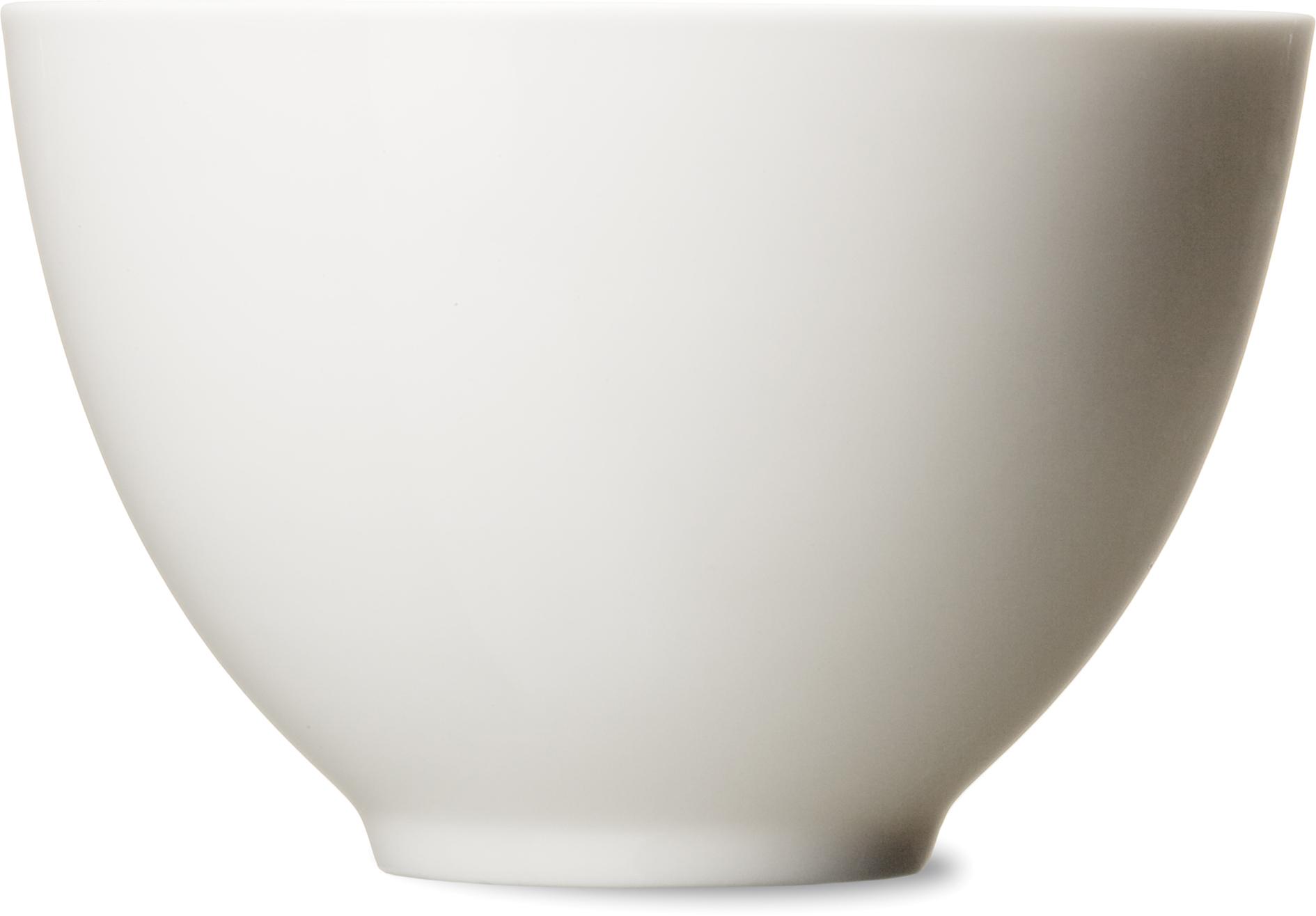 Mísa střední, 13 cm s držákem květin, bílá
