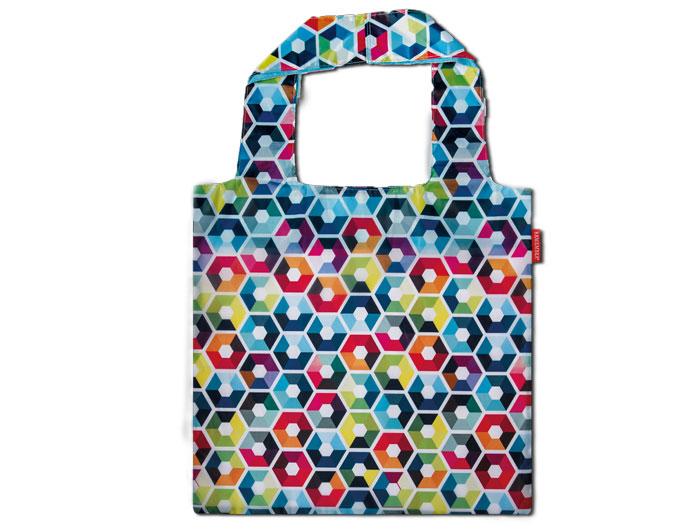 Nákupní taška skládací Hexagon