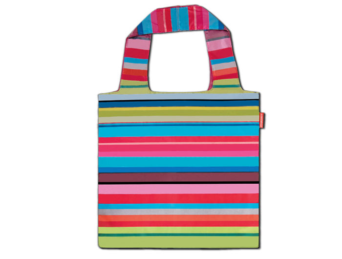 Nákupní taška skládací Stripes