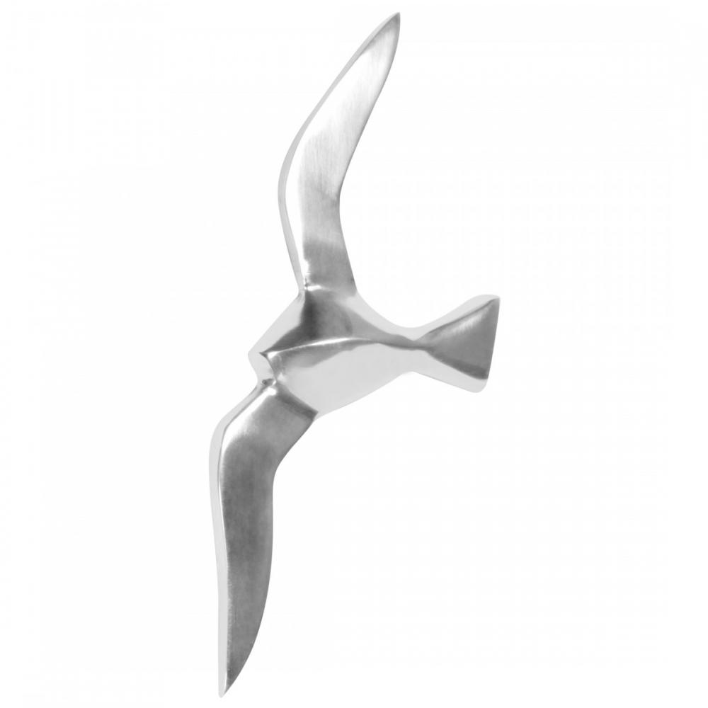 Nástěnná dekorace Bird, 30 cm, hliník