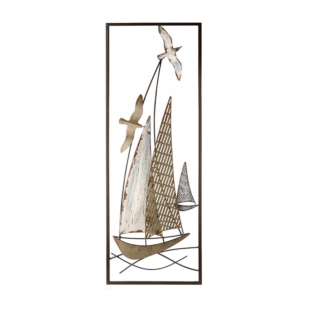 Nástěnná dekorace Plachetnice, 90 cm