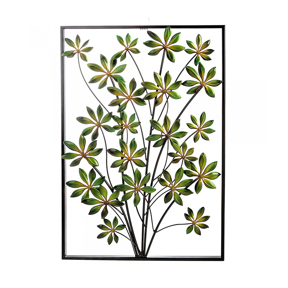 Nástěnná dekorace Plant, 74 cm