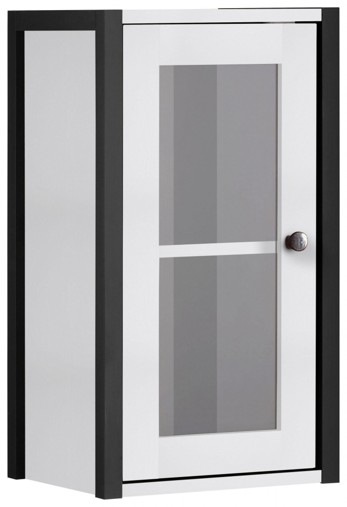 Nástěnná koupelnová skříňka Leopold, 60 cm, bílá