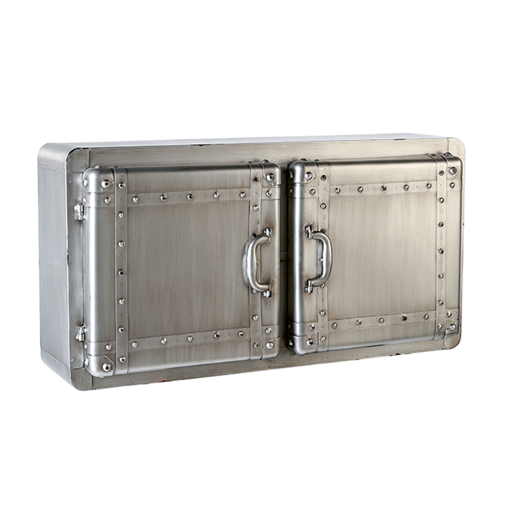 Nástěnná kovová skříňka Factory, 80 cm