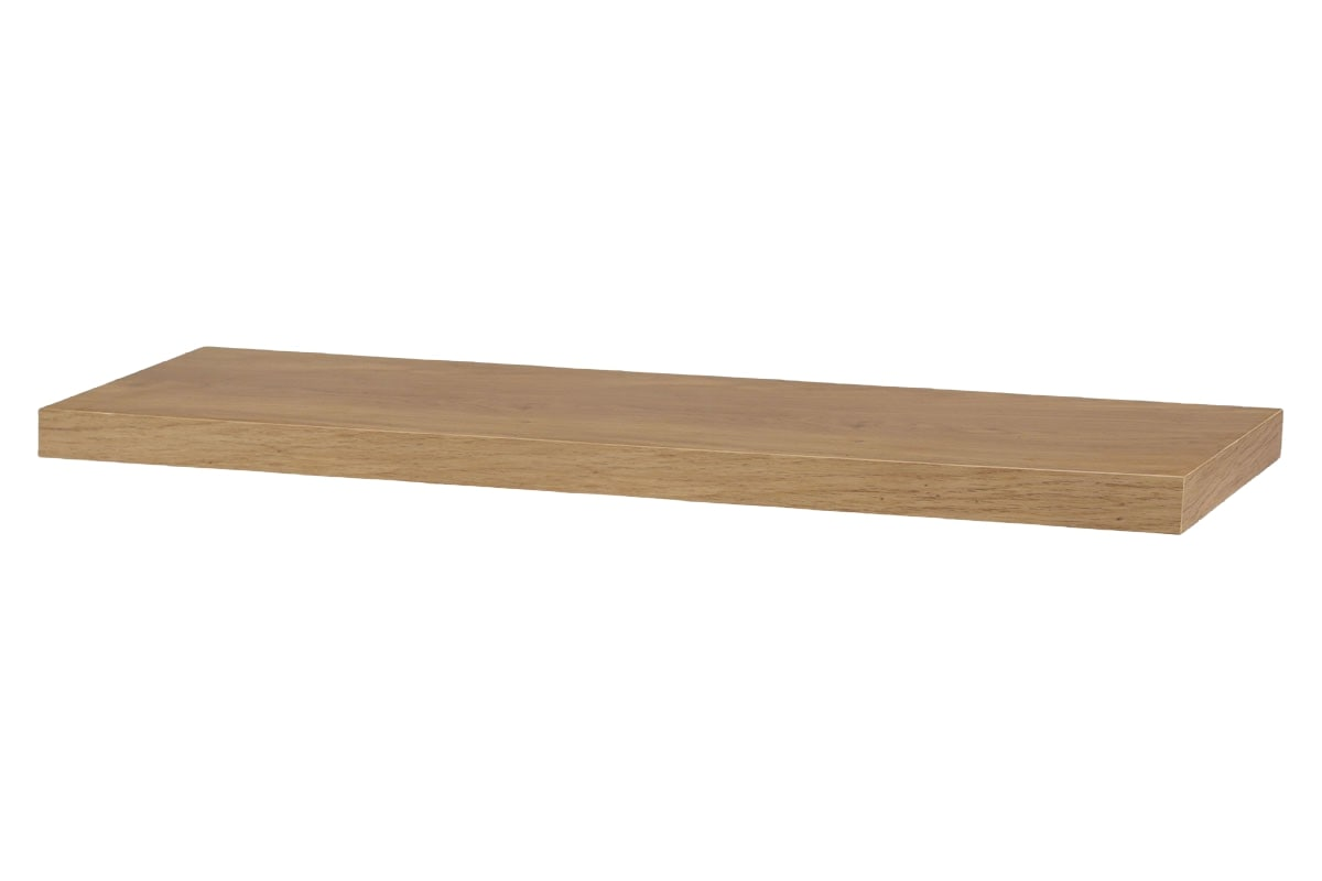 Nástěnná police Nicolas, 80 cm, dub