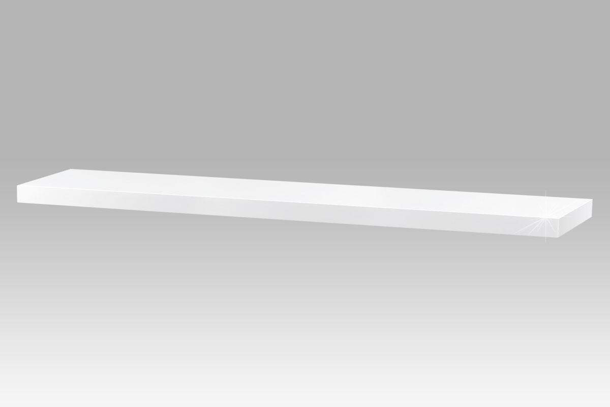 Nástěnná police Thomas, 120 cm, bílá