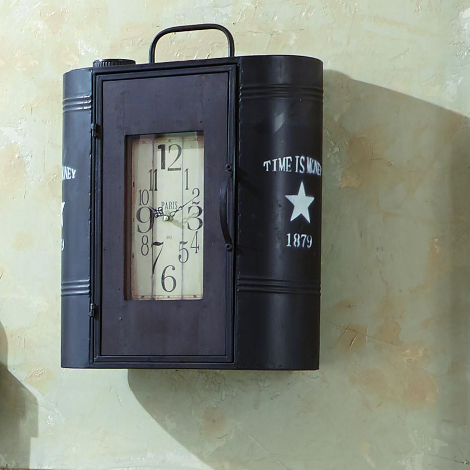Nástěnná skříňka Achil, 52 cm, hnědá