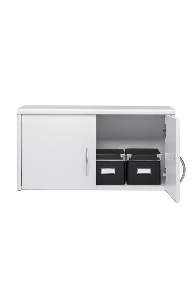 Nástěnná skříňka Bria, 74 cm, bílá
