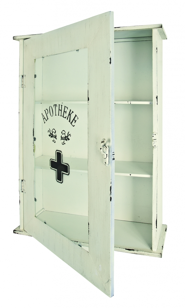 Nástěnná skříňka Harp, 62 cm, bílá