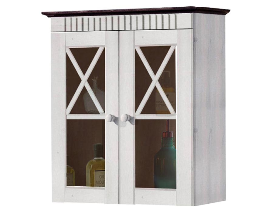Nástěnná skříňka Rocia, 66 cm, bílá