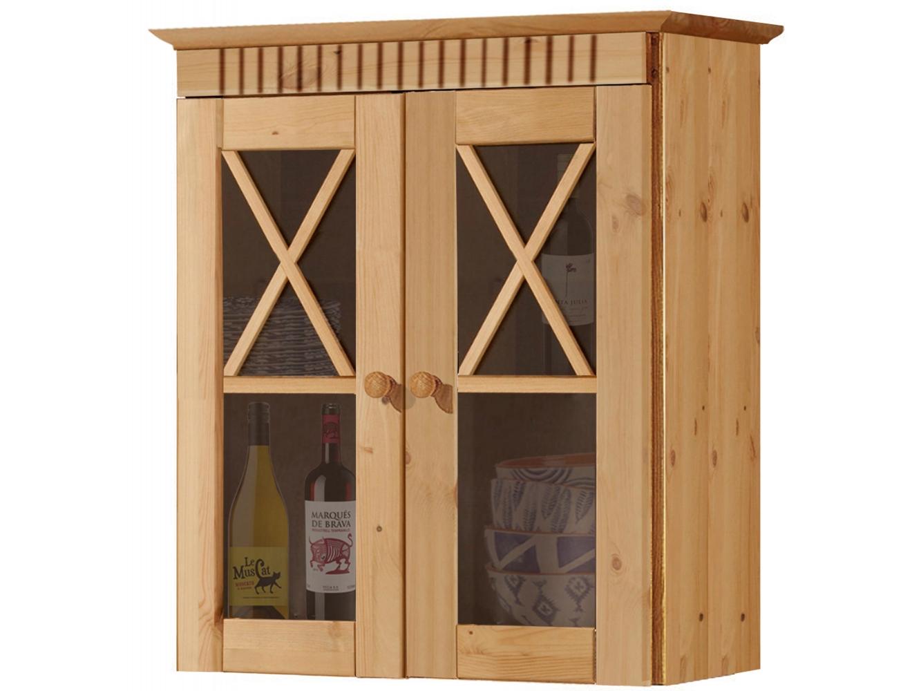 Nástěnná skříňka Rocia, 66 cm, borovice