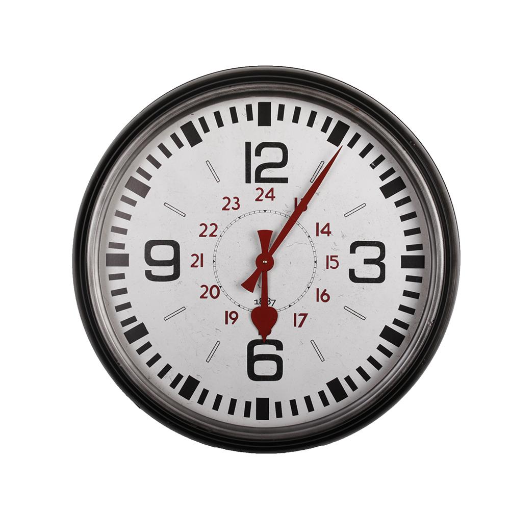 Nástěnné hodiny Brugte, 63,5 cm