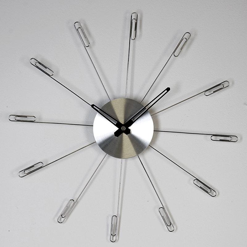 Nástěnné hodiny Clip, 36 cm