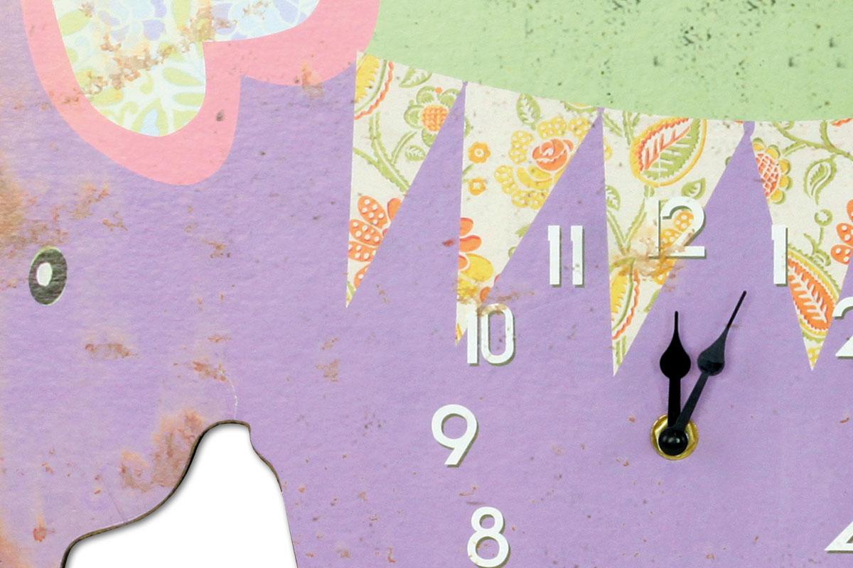 Nástěnné hodiny Elephant, 38 cm