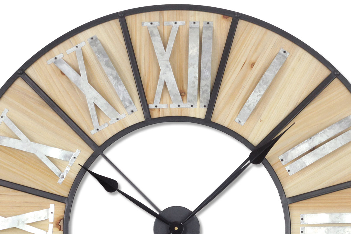 Nástěnné hodiny Izza, 90 cm