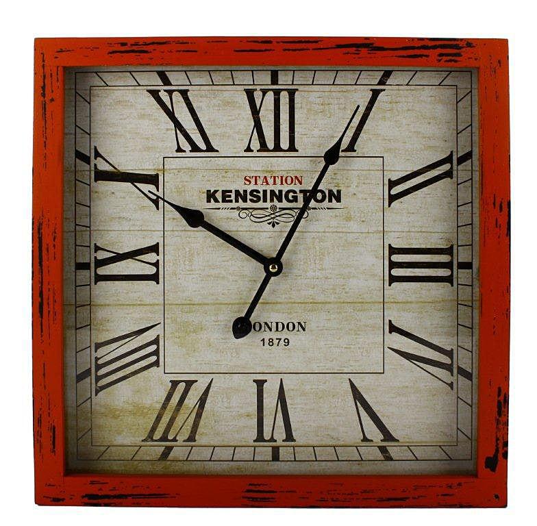 Nástenné hodiny Kensington II. , modrá