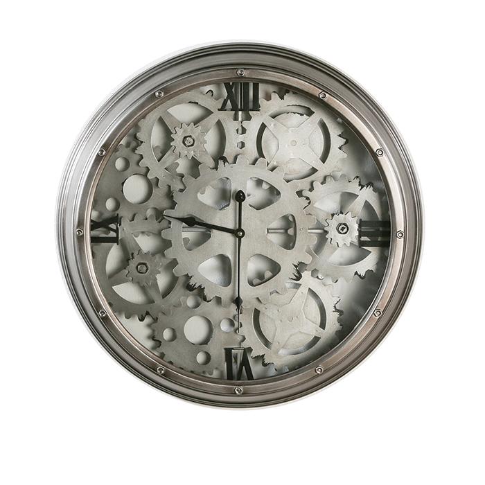 Nástěnné hodiny kovové Loft, 60 cm