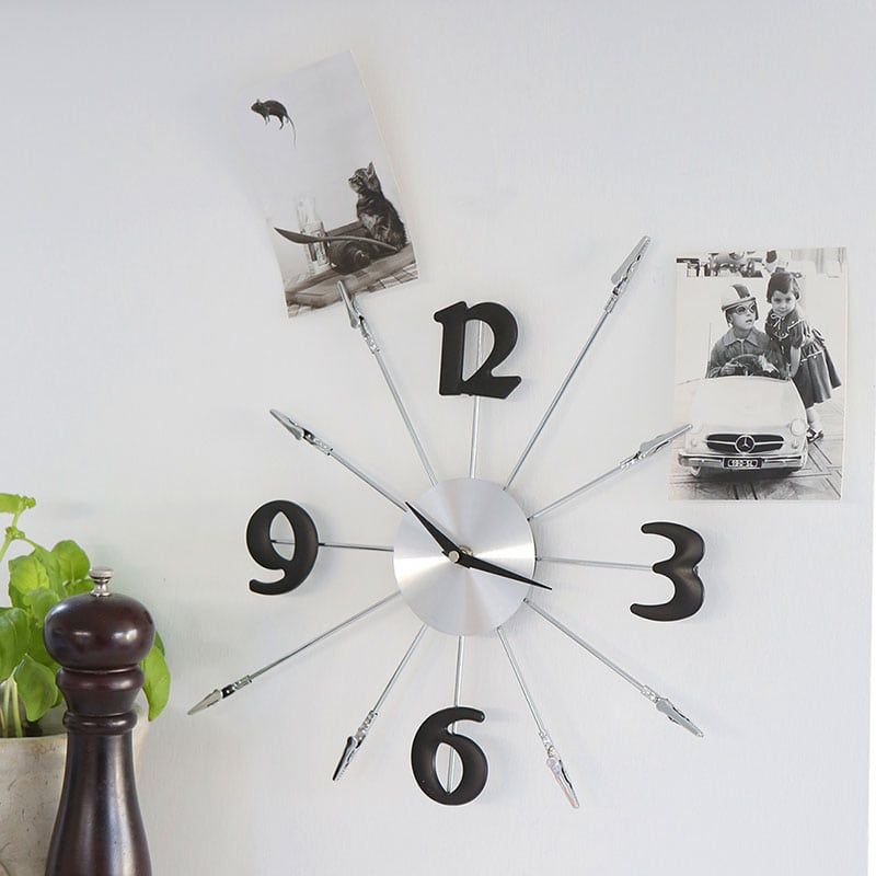 Nástěnné hodiny Memo, 43 cm