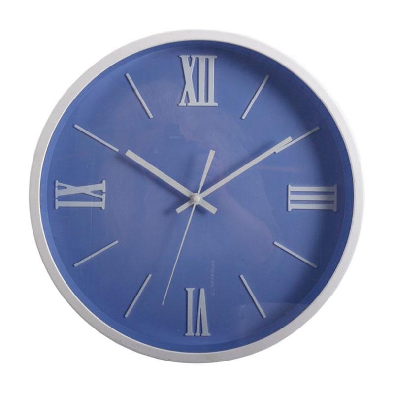 Nástěnné hodiny Roman, 36 cm, modrá
