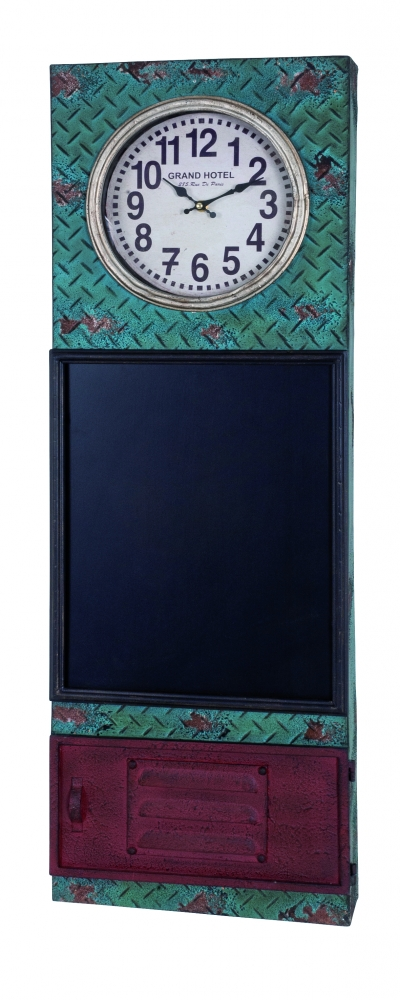 Nástěnné hodiny s tabulí Myra, 95 cm