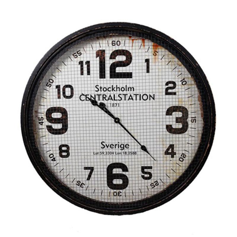 Nástěnné hodiny Stockholm, 78 cm