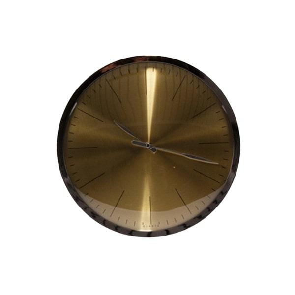 Nástěnné hodiny Tiden, 33 cm, zlatá