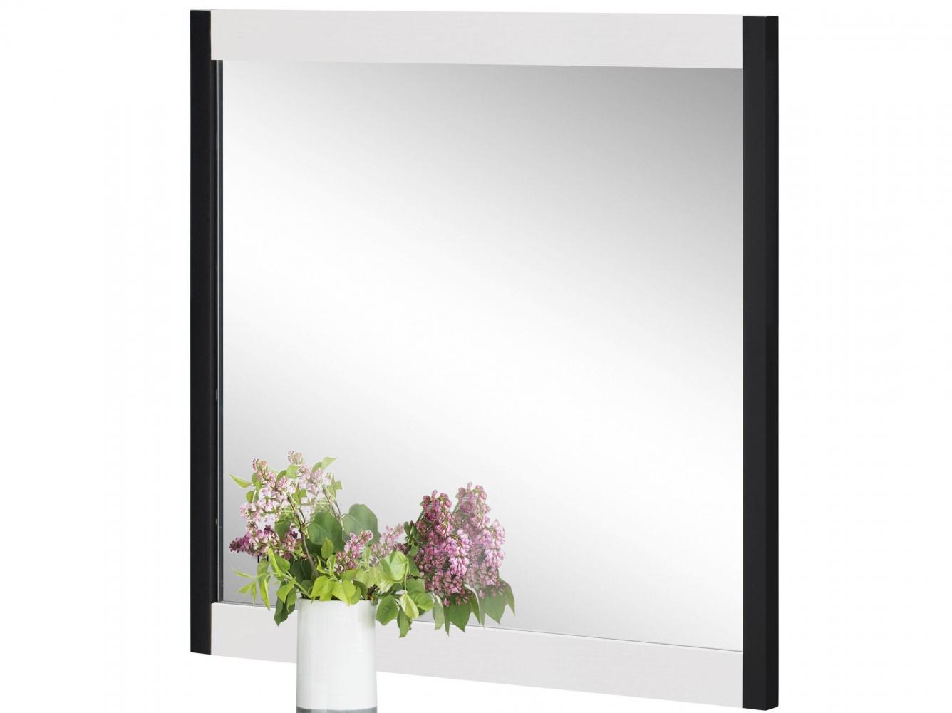 Nástěnné koupelnové zrcadlo Leopold, 70 cm, bílá
