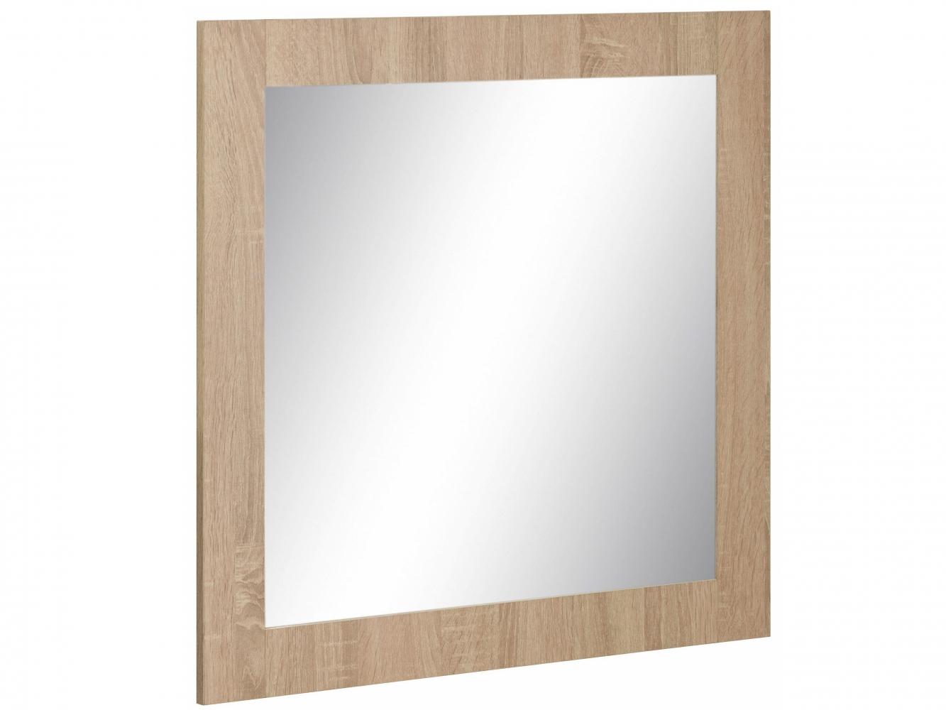 Nástěnné zrcadlo Agat, 70 cm, dub