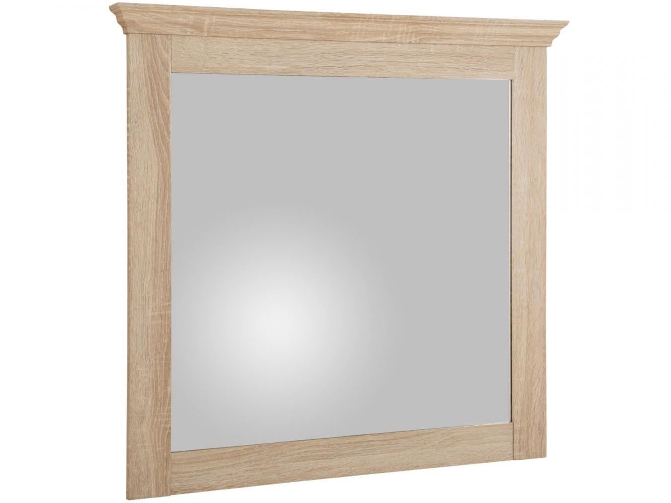Nástěnné zrcadlo Brusel, 75 cm, dub