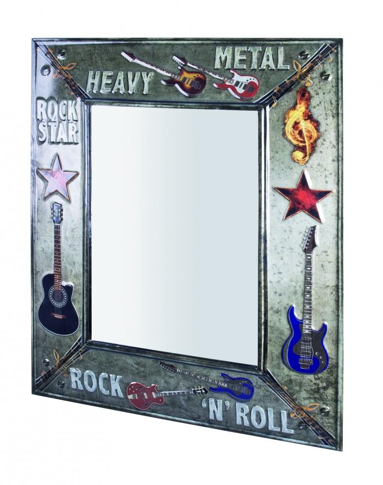 Nástěnné zrcadlo Heavy Metal, 70 cm