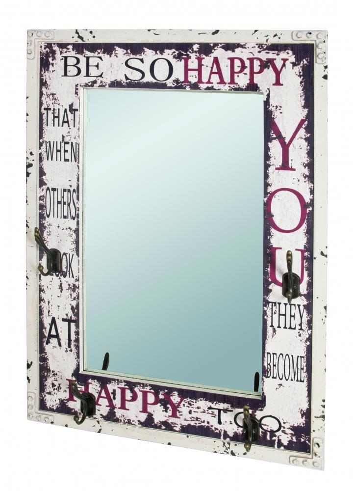 Nástěnné zrcadlo Ownie, 75 cm