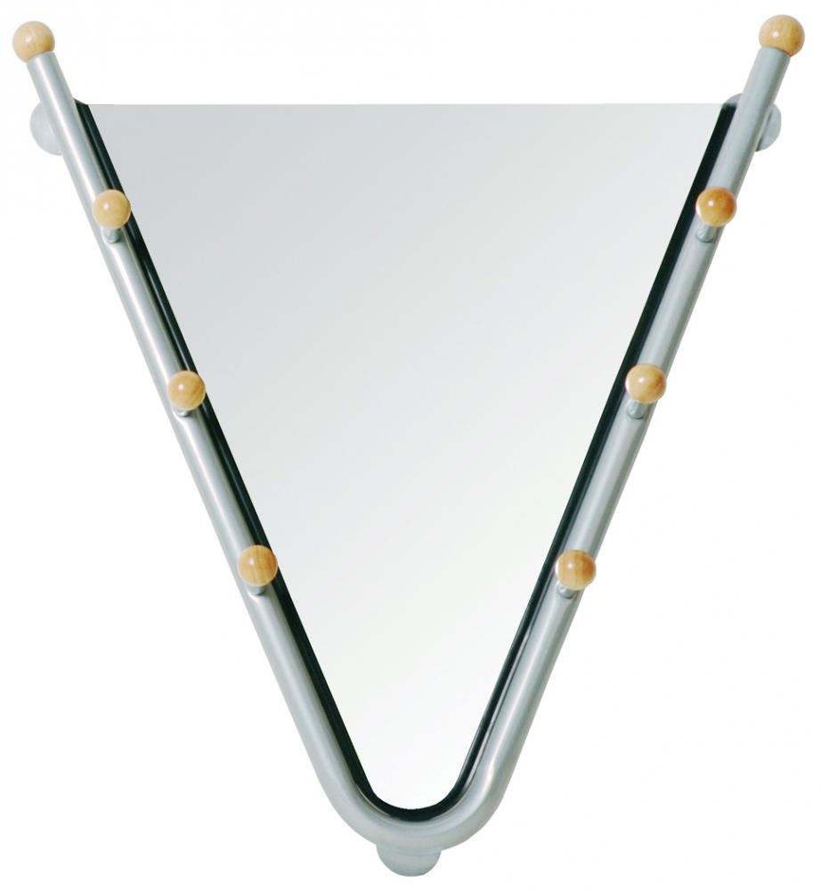 Nástěnné zrcadlo s háčky Kogo, 67 cm