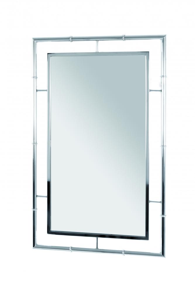 Nástěnné zrcadlo Zita, 80 cm, stříbrná