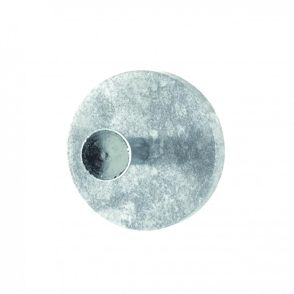Nástěnný háček Dilan, světlý beton