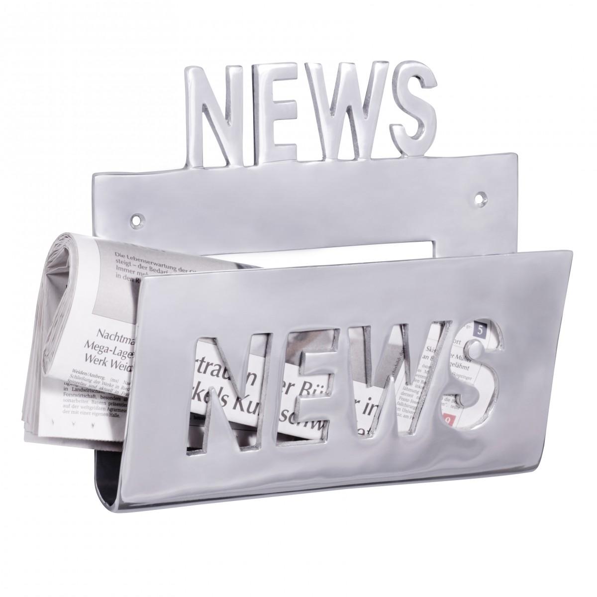 Nástěnný stojan na časopisy News, 30 cm