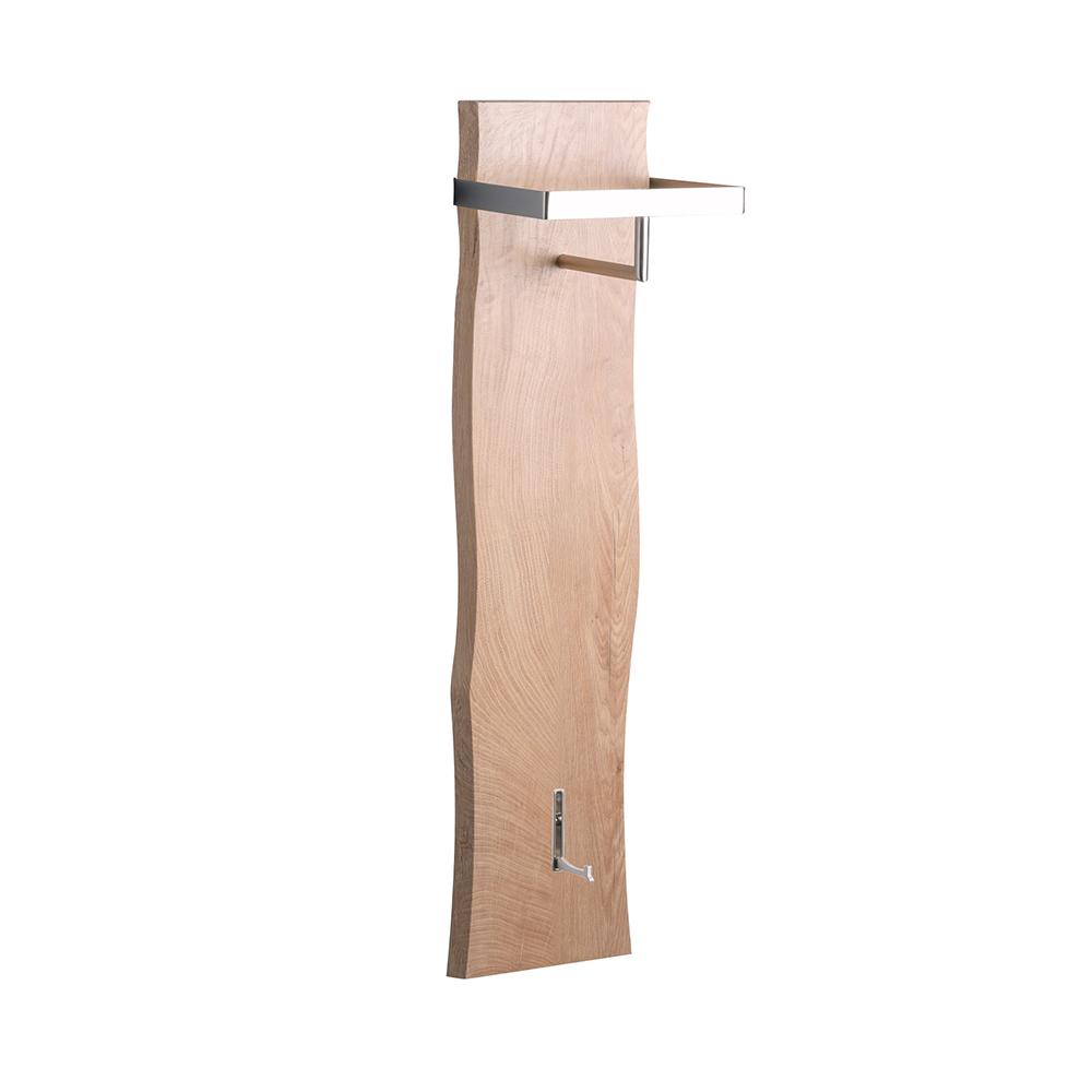 Nástěnný věšák Cirus, 110 cm, dub