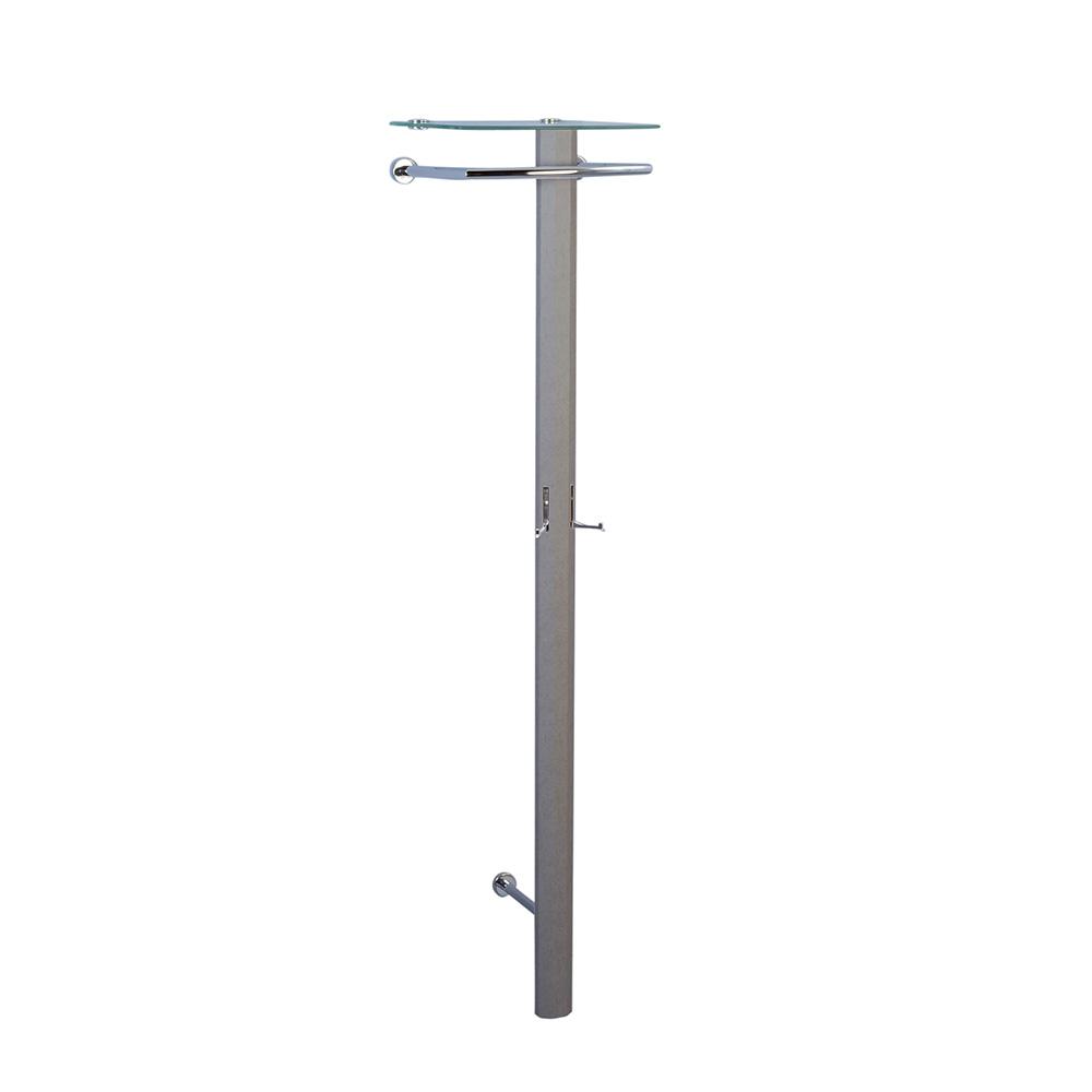 Nástěnný věšák Clip, 185 cm, beton