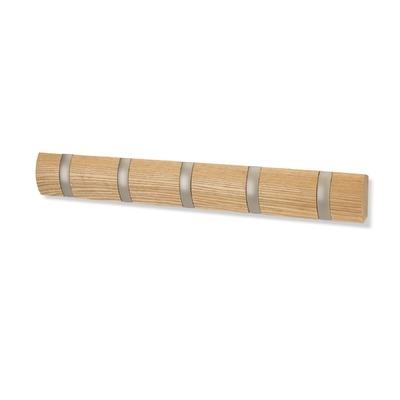 Nástěnný věšák Felix, 51 cm, světlé dřevo