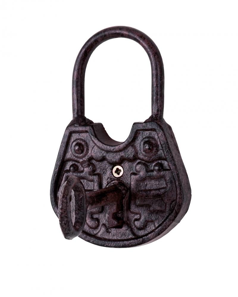 Nástěnný věšák Locker, 15 cm, hnědá