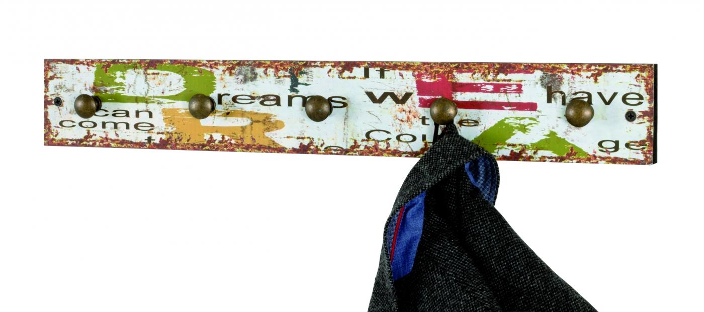 Nástěnný věšák Luzia, 57 cm