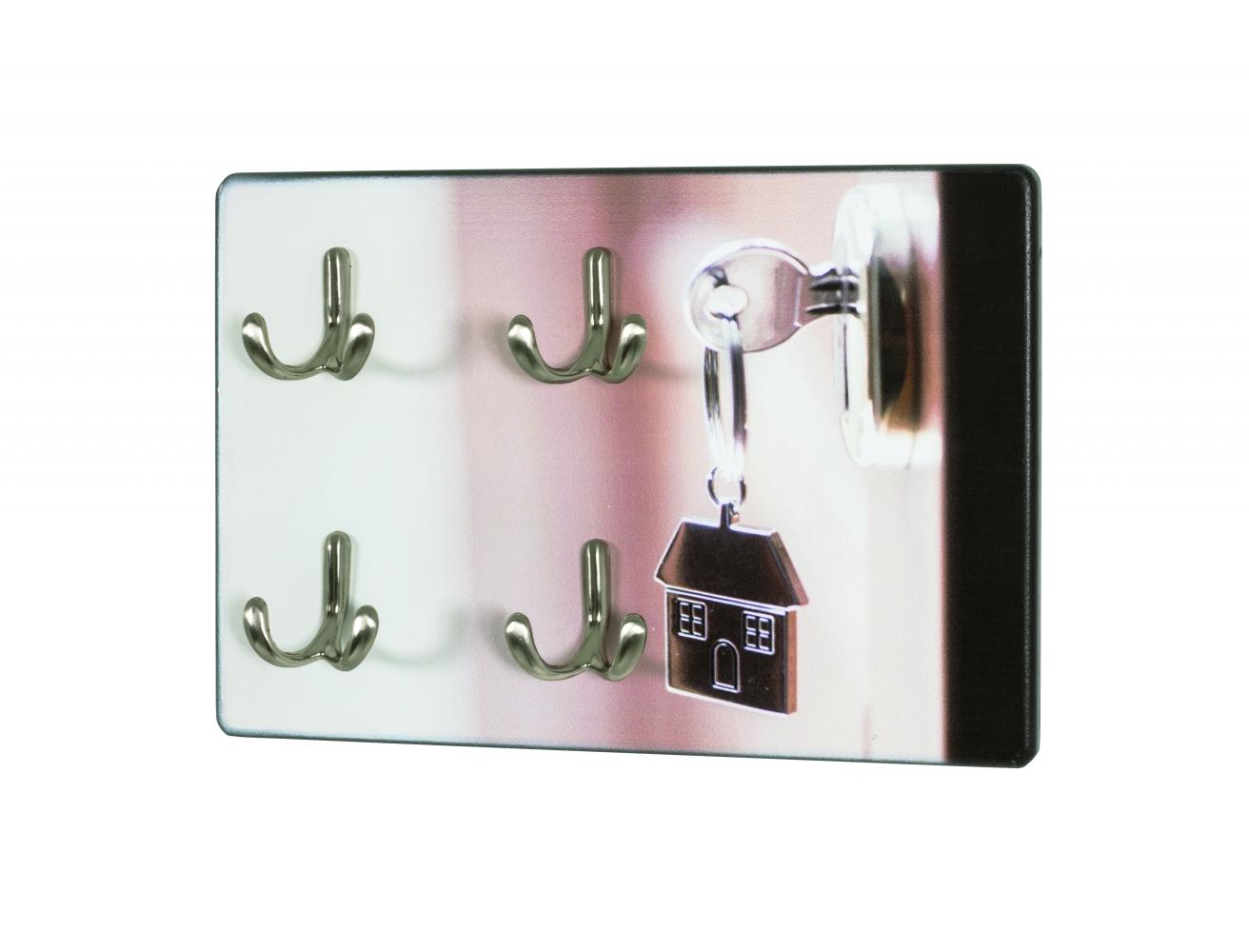 Nástěnný věšák na klíče Key, 21 cm