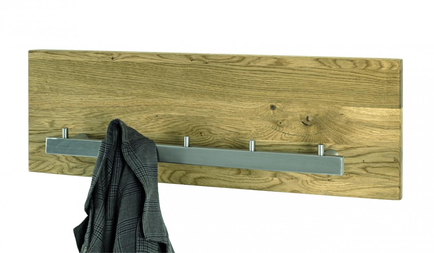 Nástěnný věšák Noah, 60 cm, dub