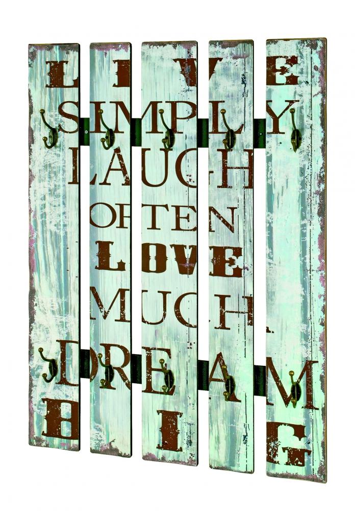 Nástěnný věšák Quincy II., 100 cm
