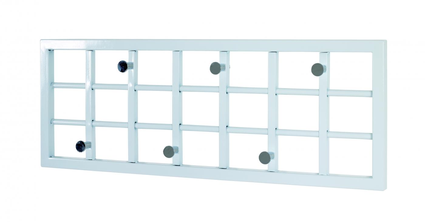 Nástěnný věšák s 6 háčky Limbo, 60 cm