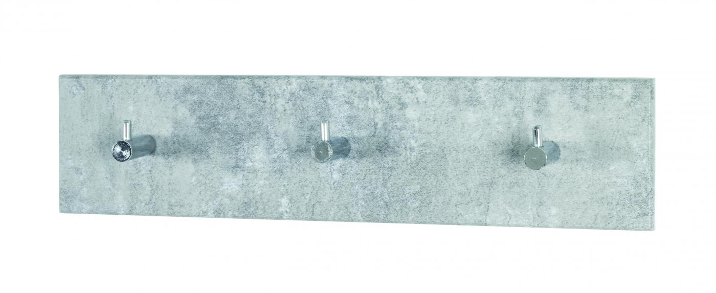 Nástěnný věšák Sonny, 34 cm, světlý beton