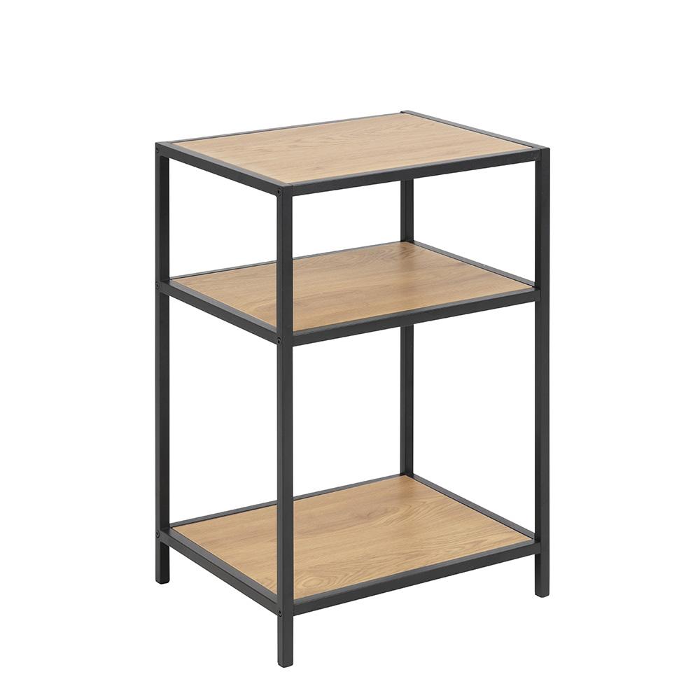 Noční / odkládací stolek Seashell, 63 cm, dub