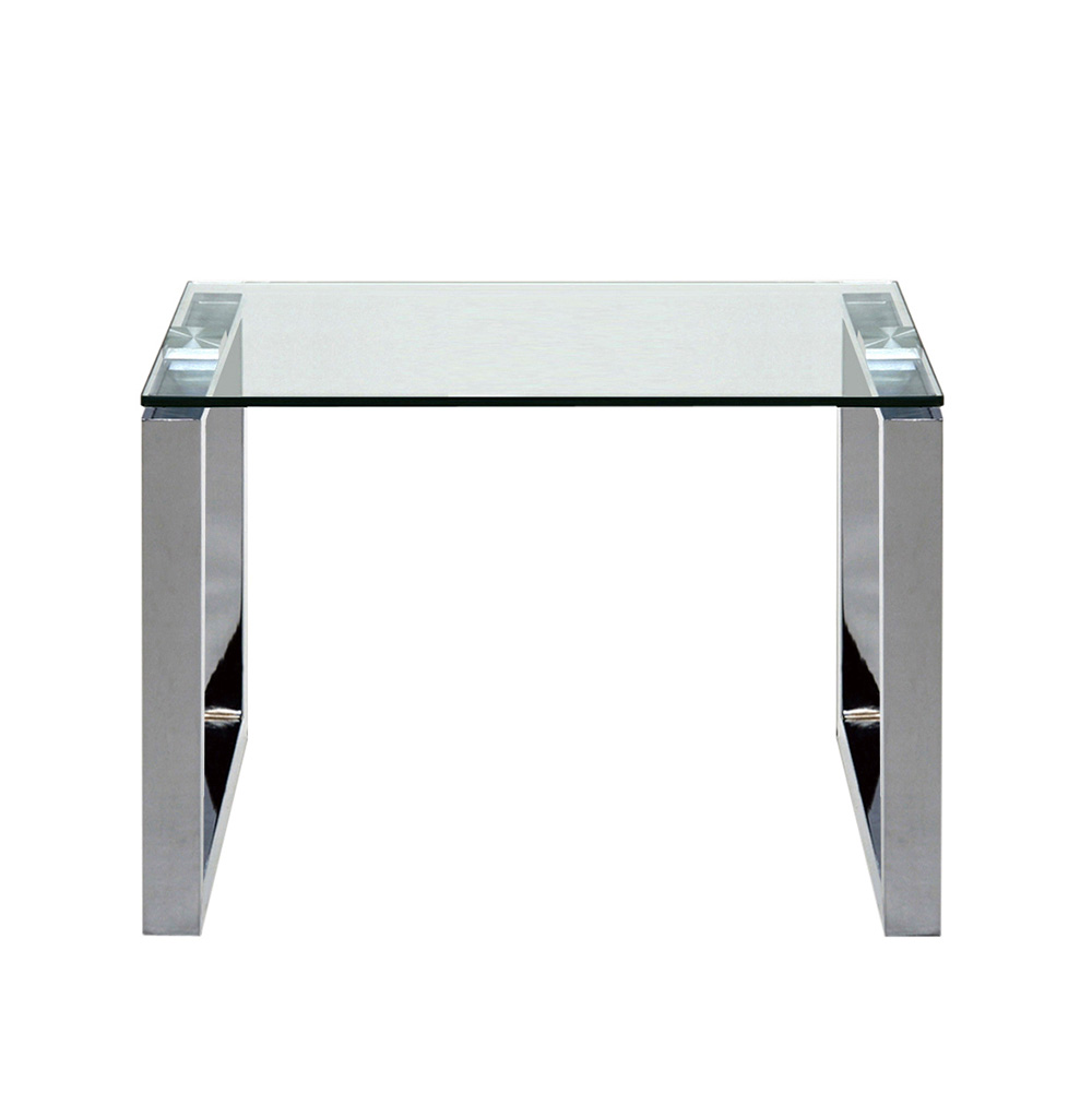 Noční / odkládací stolek Tracy, 50 cm, čirá