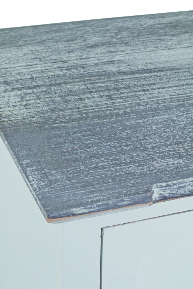 Noční stolek Eddy, 60 cm, bílá