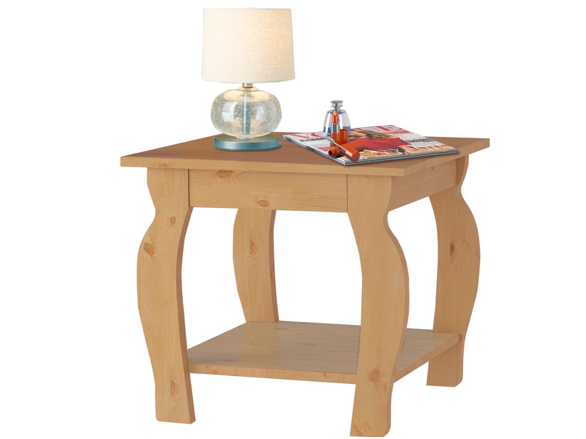 Noční stolek Mari, 50 cm, borovice